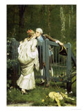 The Kiss Giclee Print by Auguste Serrure