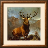 Monarch of the Glen Prints by Edwin Henry Landseer