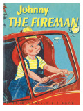 Johnny the Fireman Photographic Print