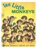 Ten Little Monkeys Photographic Print