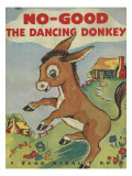 Bo Good the Dancing Donkey Photographic Print