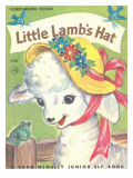 Little Lambs Hat Photographic Print