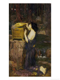 Pandora Reproduction procédé giclée par John William Waterhouse