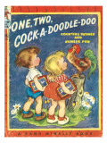 One Two Cock a Doodle Doo Photographic Print