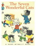 The Seven Wonder Cats Posters