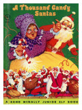 A Thousand Candy Santas Posters