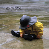 Explore: Child in the Rain Pósters por Nicole Katano