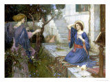 The Annunciation, c.1914 Lmina gicle por John William Waterhouse