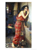 Thisbe or The Listener, c.1909 Giclee Print by John William Waterhouse