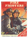 Fire Fighters Photographic Print