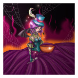 Little Miss Muffet Photographic Print