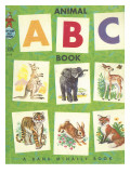 Animal ABC Photographic Print