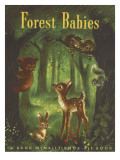 Forest Babies Photographic Print