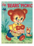 Bear's Picnic Photographic Print