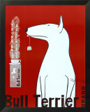 Bull Terrier Tea Julisteet tekijänä Ken Bailey