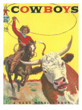 Cowboys Photographic Print