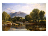 Reflections of a Highland Landscape Giclee Print by Henry Brittan Willis