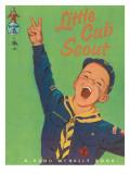 Little Cub Scout - Art Print