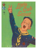 Little Cub Scout Photographic Print