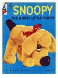 Snoopy the Nosey Little Puppy Photographic Print