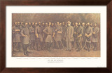 Robert E. Lee and His Generals Prints by  Mathews