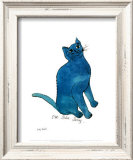 One Blue Pussy, c.1954 Prints by Andy Warhol