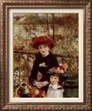 On the Terrace Prints by Pierre-Auguste Renoir