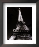 Eiffel Tower Art by Christopher Bliss