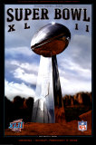 Super Bowl XLII Print