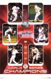 Boston Red Sox 2007 World Series Champions Posters