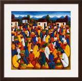 Haitian Art Print by Andre Pierre