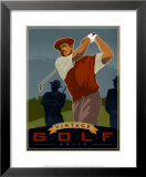 Vintage Golf, Drive Posters by Si Huynh