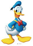 Donald Duck Cardboard Cutouts