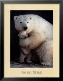 Bear Hug Posters by Rick Egan