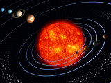 The Solar System Photographic Print by Stocktrek Images