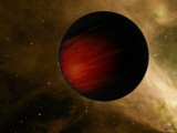 Hot Jupiter Called HD 149026B Photographic Print by Stocktrek Images 