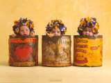 Anne's Pansies Art by Anne Geddes