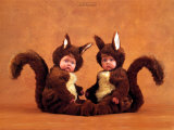 Squirrels Prints by Anne Geddes