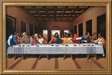 Last Supper Art by Hullis Mavruk