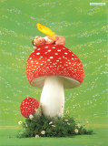 Erin as Toadstool Prints by Anne Geddes