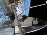 STS-118 Astronaut, Construction and Maintenance on International Space Station August 15, 2007 Photographic Print by Stocktrek Images