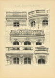 Motifs D'architecture Moderne III Premium Giclee Print by Schmidt Schmidt