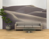 Several Sand Dunes Appear to Rise Like Giant Waves Wall Mural  Large by George F. Mobley