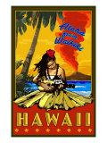Aloha from Waikiki, Hawaii Kunstdrucke