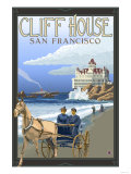 Cliff House, San Francisco, California Prints by  Lantern Press