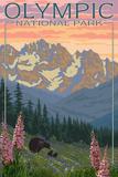 Spring Flowers, Olympic National Park Kunstdrucke