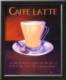 Urban Caffe Latte Prints by Paul Kenton