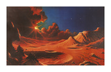 Stellar Radiance Premium Giclee Print by David Hardy