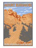Mount Rushmore National Park, South Dakota Print