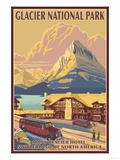 Many Glacier Hotel, Glacier National Park, Montana Affiches